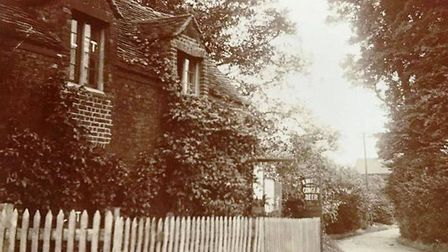 Could the lemonade have been bought at this tea room in The Rookery part of Upney Lane (not far from