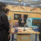 Council leader Cllr Darren Rodwell during a visit to Elutec. Picture: Jamie Wills