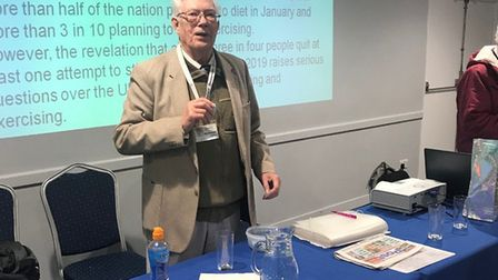 Bill Foulkes is the founder of the Barking and Dagenham branch of charity Diabetes UK. Picture: Cash