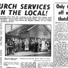 Church services - in the local! from February 17, 1960. Picture: Archant