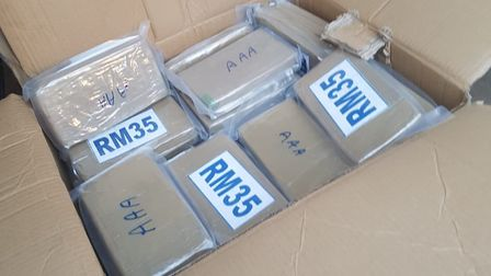 Five people have been charged after detectives seized £2million worth of cocaine. Picture: NCA