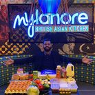 Ishfaq Farooq is a director at Mylahore in Barking which is offering food boxes. Picture: Mylahore