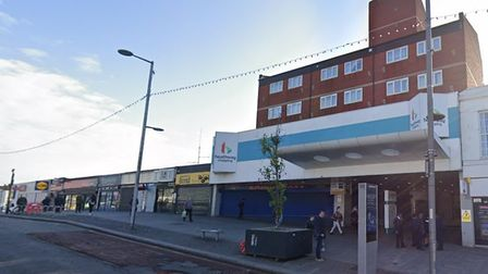 Heathway Shopping Centre with Millard Terrace in the background. Picture: Google