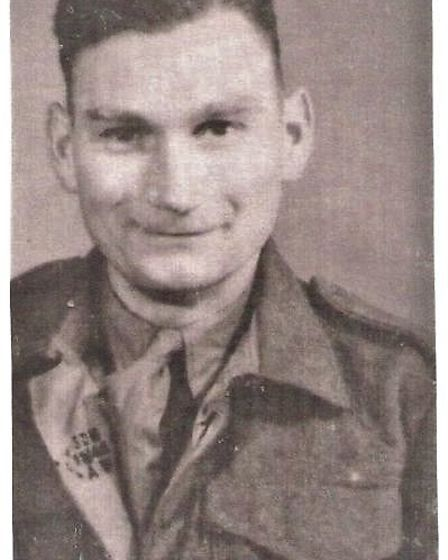 Ron's dad Philemon Lloyd serving in Germany in 1945. Picture: Ronald Lloyd