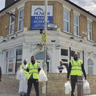 The Al Noor Cultural and Educational Trust Foodbank is based on the Gascoigne Estate in Barking. Pic
