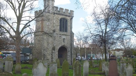 The Curfew Tower, or Abbey Gate, as it is today. Picture: Be First