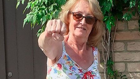 Don't mess with Kaye Parish. Picture: Barking & Dagenham Council