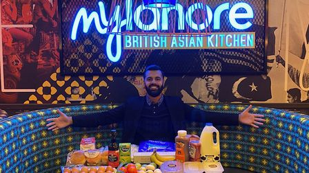 MyLahore in Barking offered food boxes during the height of the pandemic. Picture: MyLahore