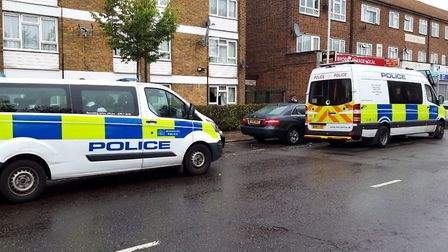 A person was taken to hospital as a result of the operation. Picture: Ken Mears