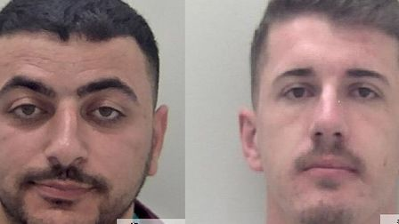 Edison Shahu and Albes Tocilla, both from Barking, pleaded guilty to conspiring to supply cocaine an