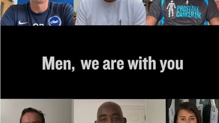 Prostate Cancer UK has released a new video to celebrate the return of football