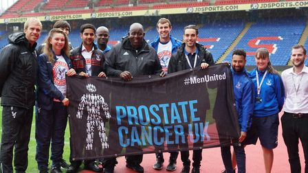 The football family are working with Prostate Cancer UK to raise awareness of the disease