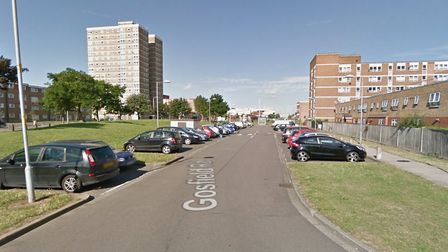 Police were called to Gosfield Road. Picture: Google