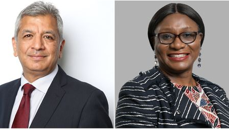 Local Assembly Member for City and East Unmesh Desai and Barking and Dagenham Councillor Sade Bright