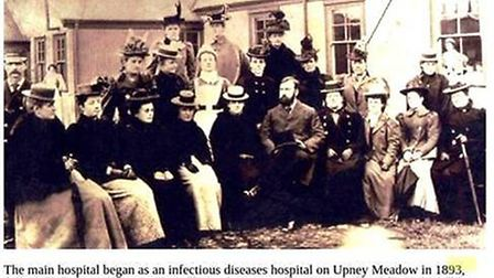 An outbreak of infectious diseases in 1885 led to the building of an isolation tent and eventually a