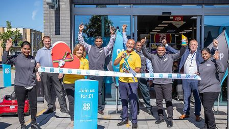 The new Barking Co-op Food store in Minter Road was opened on Thursday, July 30. Picture: Co-Op Food