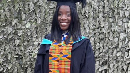 Warwick University graduate Tamara Valentina needs to raise �23,000 to secure her place at the Unive