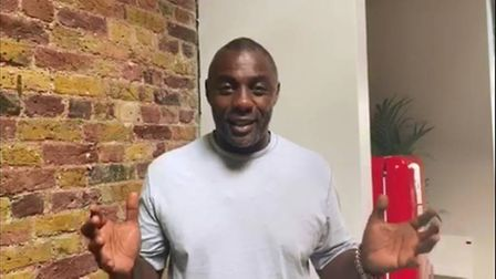 Idris Elba told BTEC students they 'bossed it' in a difficult year. Picture: Barking and Dagenham Co
