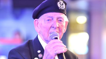 Danny McCrudden, who served in the Second World War. Picture: Taxi Charity