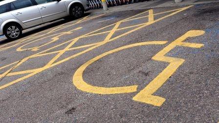 Blue badges are issued to drivers with certain disabilities. Picture: PA