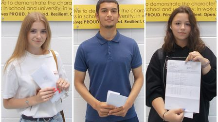 Iuliana Gavriliuc, Mohammed Madour and Anna-Maria Ion all earned six or more 9-7 grades. Pictures: P