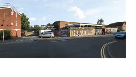 How the centre looks now. Picture: Studio 3 Arts
