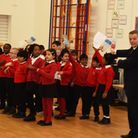 Council Leader Darren Rodwell officially launched Beam Energy at Eastbury Primary School in January