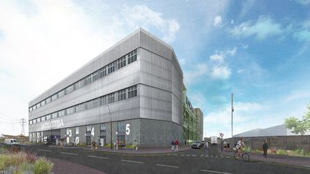 Views are being sought on a proposed new workspace hub which could be built in Barking. Picture: Be