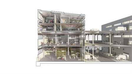 A view showing what the building could look like. Picture: Be First