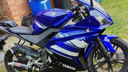 A Yamaha motorbike was stolen from Rose Court in Lowestoft in the early hours of Friday, September 2