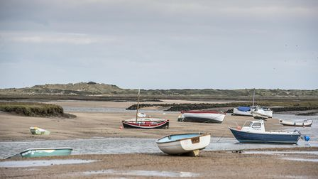 Burnham Overy Staithe, north Norfolk, is one of many north Norfolk coastal villages offering space.