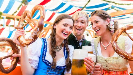 Enjoy German beers and food at a new socially distanced Oktoberfest event, with tables seating up to