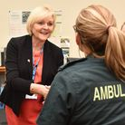 Dorothy Hosein, the chief executive of East of England Ambulance Service Trust (EEAST). Picture: Son
