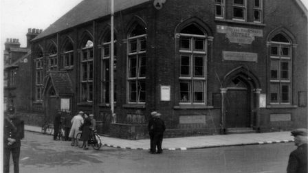 The Bethel in Battery Green Road, now the base of Lowestoft Players Theatre Group, after the Septemb