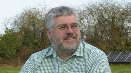 Timothy Birt, Green Party councillor for Saham Toney with Breckland Council. Pic: Green Party.