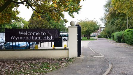Pupils at Wymondham High Academy have been told they cannot wear coats in classrooms - where windows