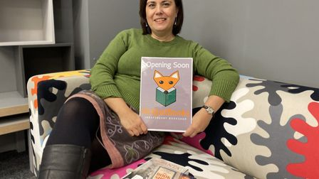Jane James is set to open a new independent book shop, called Not Just Books, in Thetford's Town Cen
