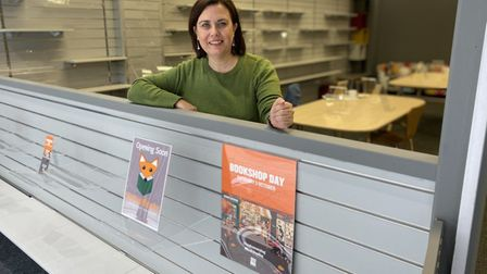JanesJames is set to open a new independent book shop, called Not Just Books, in Thetford's Town Cen