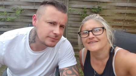 Alex Nichols and his wife Louise, who both live in Great Yarmouth. Photo: Alex Nichols