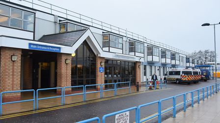 The James Paget Hospital is being investigated by a medical negligence specialist after a man was di