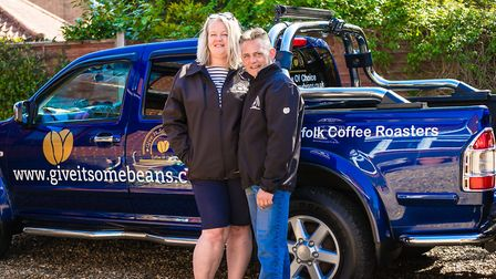 Sean and Jo Arnoup of Give it Some Beans Picture: Give it Some Beans
