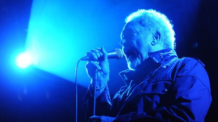 Sir Tom Jones performing at Holkham. He is among the big names to have appeal for help to support li