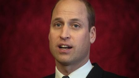 The Duke of Cambridge, who has called for global action to tackle climate change just like the commi