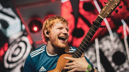 Ed Sheeran has given permission for footage from one of his 2017 gigs to be streamed online to raise