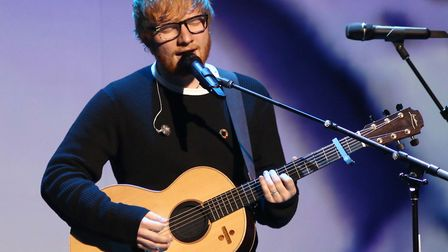 Ed Sheeran is believed to have convinced the couple to move to Suffolk Picture: GREG ALLEN/PA