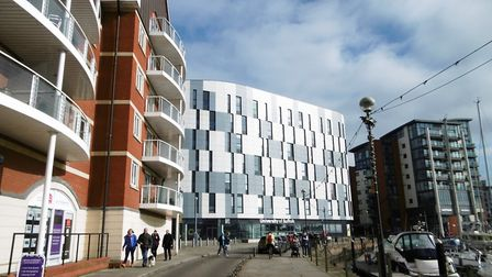The University of Suffolk, at Ipswich Waterfront. Picture: DAVID VINCENT