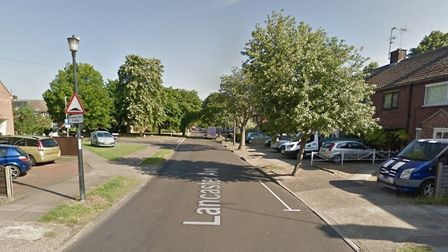Under the cycle lane plans, Lancaster Avenue's junction with Tollgate Lane in Bury St Edmunds would