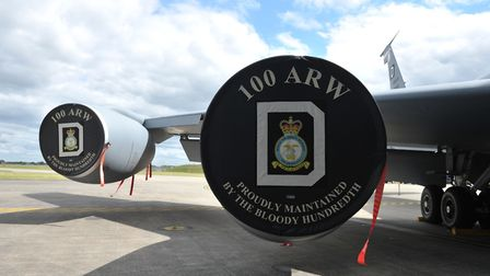 The 100th Air Refueling Wing at RAF Mildenhall, Suffolk. Picture: SARAH LUCY BROWN