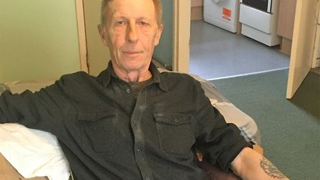 Peter Brown, 62, suffered a stroke 10 years ago and has difficulties with his short-term memory Pic