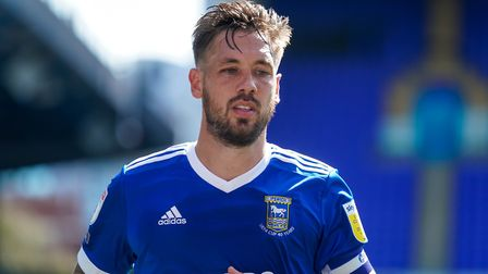 Skipper Luke Chambers is currently playing at right-back for Ipswich Town. Picture: Steve Waller